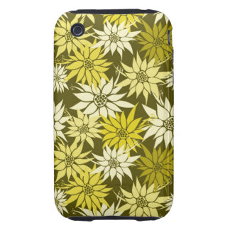 Yellow Flowers iPhone 3G/3GS Case-Mate Tough iPhone 3 Cover