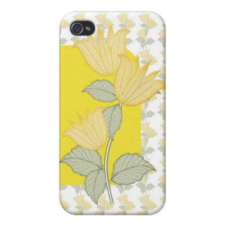 Yellow Flowers iPhone 4/4S Cover