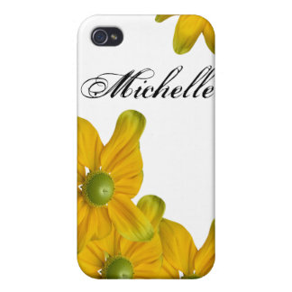 Yellow Flowers iPhone 4/4S Speck Case iPhone 4 Cover