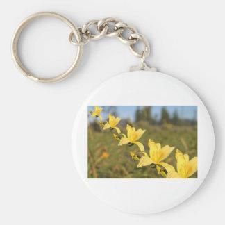 yellow-flowers keychain