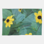 Yellow Flowers Kitchen Towel