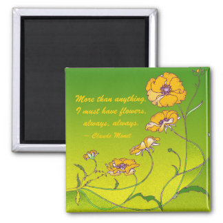 Yellow Flowers Magnet