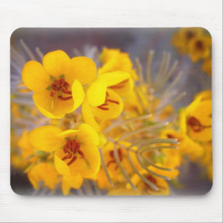 Yellow Flowers Mouse Mats