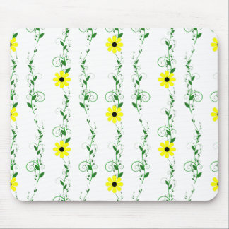 Yellow Flowers Mouse Pad
