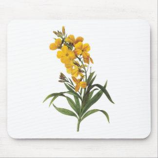 Yellow flowers,Pierre Joseph Redouté Mouse Pad