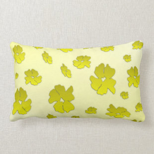 Yellow Flowers Pillow