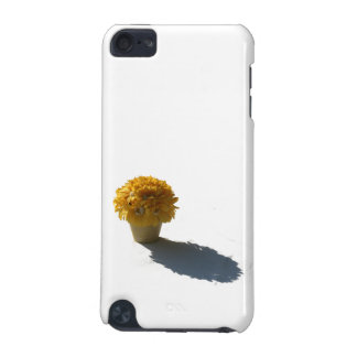 Yellow Flowers White Bucket and Shadow Cutout iPod Touch 5G Cover