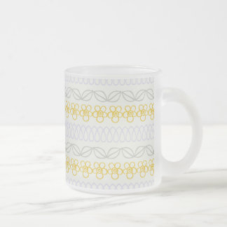 Yellow flowers with Gray Mugs