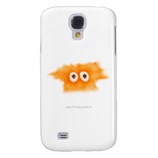 Yellow Fluffball Critter Galaxy S4 Covers
