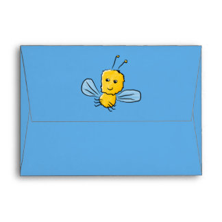 Yellow Flying Insect Bug Envelope