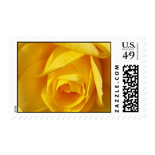 Yellow Folds Postage