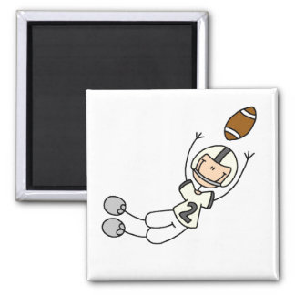 Yellow Football Player Magnet