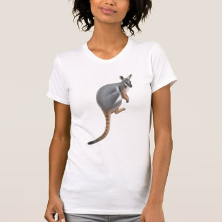 Yellow Footed Rock Wallaby Scoop Neck Shirt