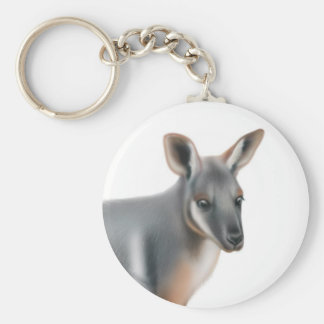 Yellow Footed Wallaby Keychain