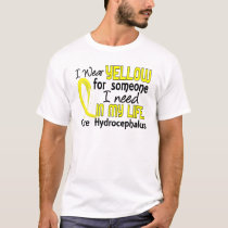 Yellow For Someone I Need Hydrocephalus T-Shirt