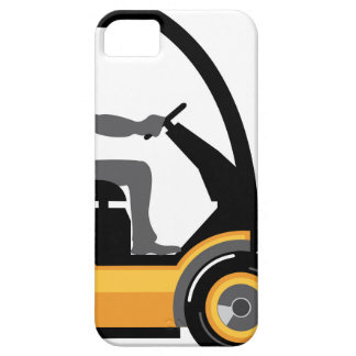 Yellow forklift iPhone SE/5/5s case