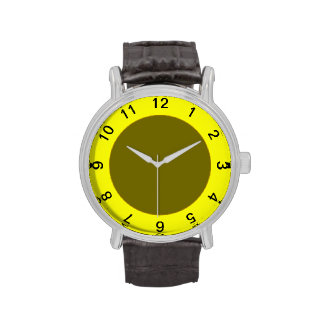 Yellow Frame Watch Template
