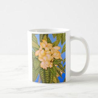 Yellow Frangipani Coffee Mug