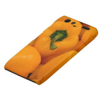 yellow fresh pepper droid RAZR cover