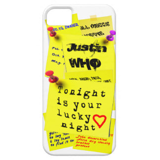 Yellow Fridge Note Sticker Cool 3D iPhone 5 Case