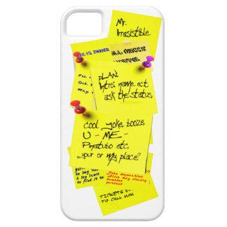 Yellow Fridge Note Sticker iPhone 5 Case 3D Cool