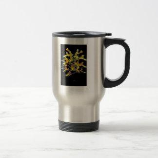 Yellow fringed orchid mug