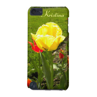 Yellow Fringed Tulip iPod touch Case