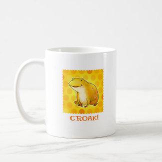 Yellow Frog Mug(left handle) Coffee Mug