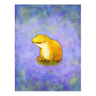 Yellow Frog Postcard