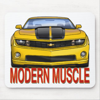 YELLOW_FRONT_CAMARO.png Mouse Pad