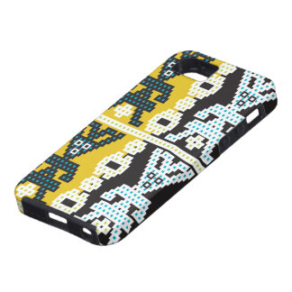 Yellow funky blokes iPhone SE/5/5s case