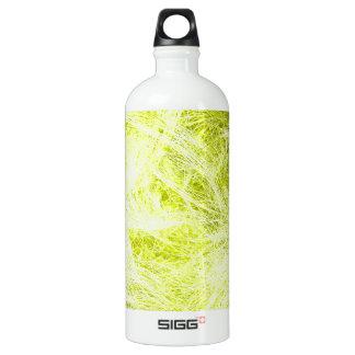 Yellow Fur Aluminum Water Bottle