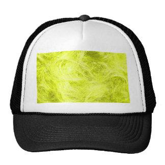 Yellow Fur Trucker Hat