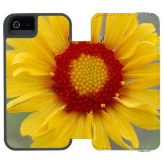 Yellow Gaillardia Incipio Watson™ iPhone 5 Wallet Case