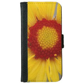 Yellow Gaillardia iPhone 6 Wallet Case