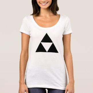 Yellow Gaming Triangle Fantasy T Shirt