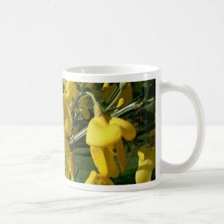 Yellow Garden Flowers Mugs