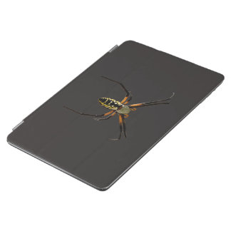 Yellow Garden Orb-Weaver Spider iPad Air Cover