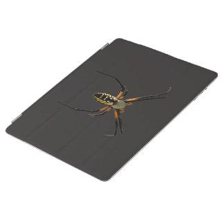 Yellow Garden Orb-Weaver Spider iPad Cover