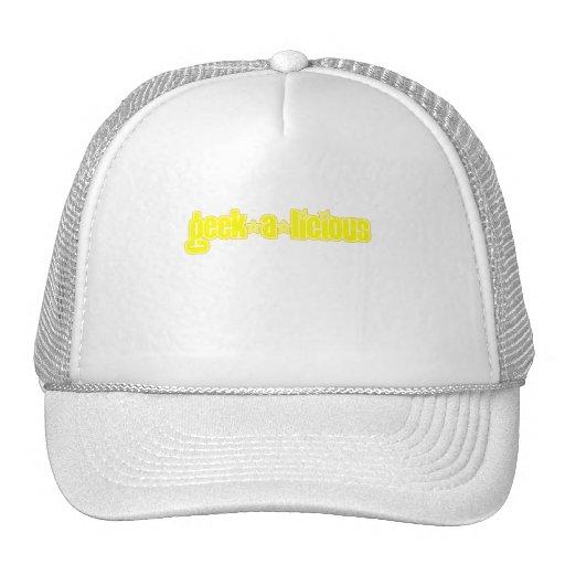 Yellow Geekalicious Trucker Hat