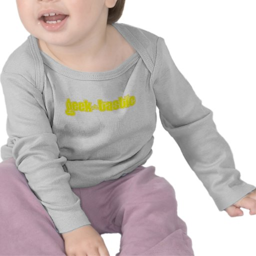 Yellow Geektastic Tee Shirts