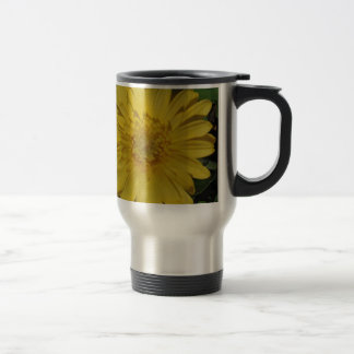 Yellow Gerber / Gerbera Daisy Travel Mug