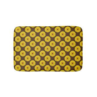Yellow Gerbera Bath Mats