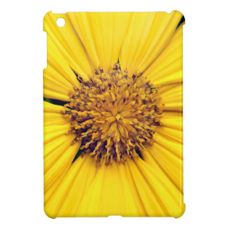 Yellow Gerbera Daisy Background.jpg iPad Mini Cases
