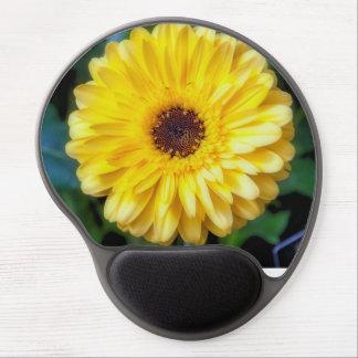 Yellow Gerbera Daisy Gel Mouse Pad
