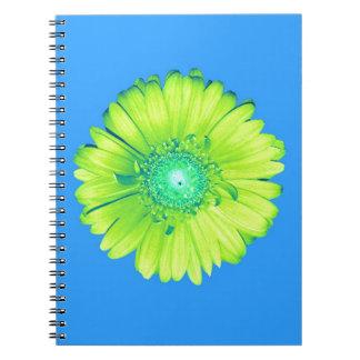 Yellow Gerbera Daisy Spiral Notebook