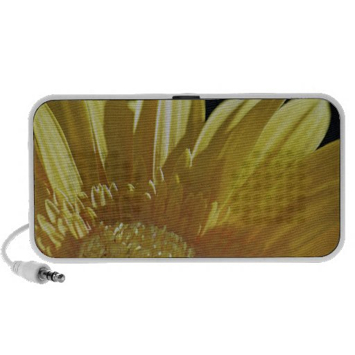Yellow Gerbera Daisy PC Speakers