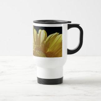 Yellow Gerbera Daisy Travel Mug