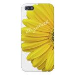 Yellow Gerbera Gerber Daisy Flower iPhone 5 iPhone 5 Case
