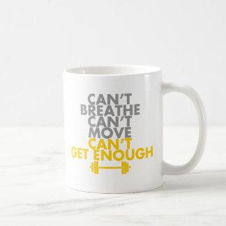 "Yellow ""Get Enough"" Coffee Mug"